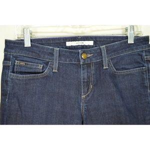 Joe's Jeans Jeans - Joe's Jeans 28 x 33 Cigarette skinny dark wash lon